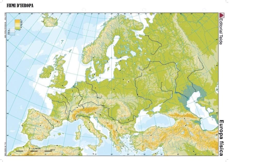 Cartina Politica Muta Dell Europa.1u Fermi Fermi Polo Montale